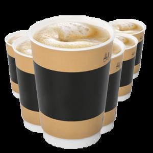 Шестой кофе в подарок в МакКафе