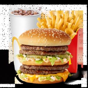Большой МакКомбо Двойной Биг Мак