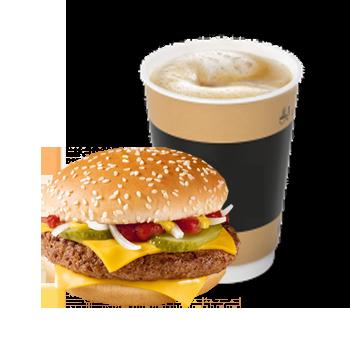 Чизбургер и Капучино — СЮРПРИЗ НЕДЕЛИ